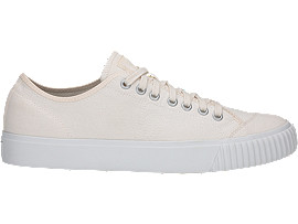 Right side view of OK Basketball Low-Top, CREAM/CREAM