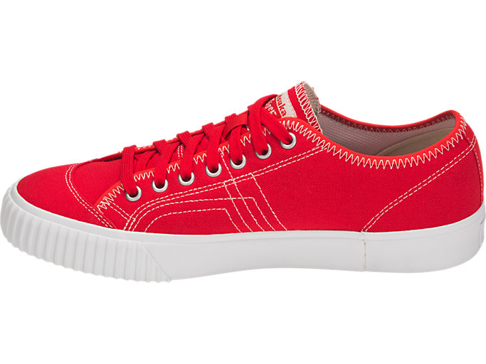 Left side view of OK BASKETBALL LO, CLASSIC RED/CLASSIC RED