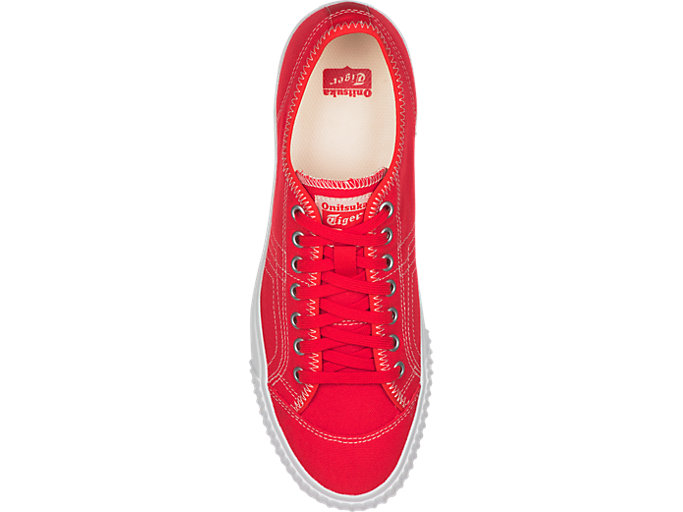 Top view of OK BASKETBALL LO, CLASSIC RED/CLASSIC RED