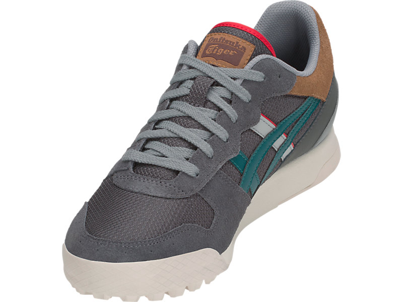 TIGER HORIZONIA DARK GREY/SPRUCE GREEN 9 FL