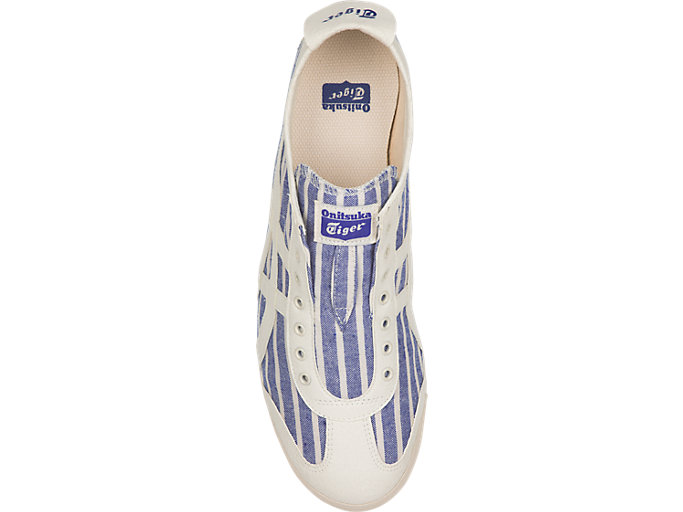 Top view of MEXICO 66 SLIP-ON, IMPERIAL/CREAM