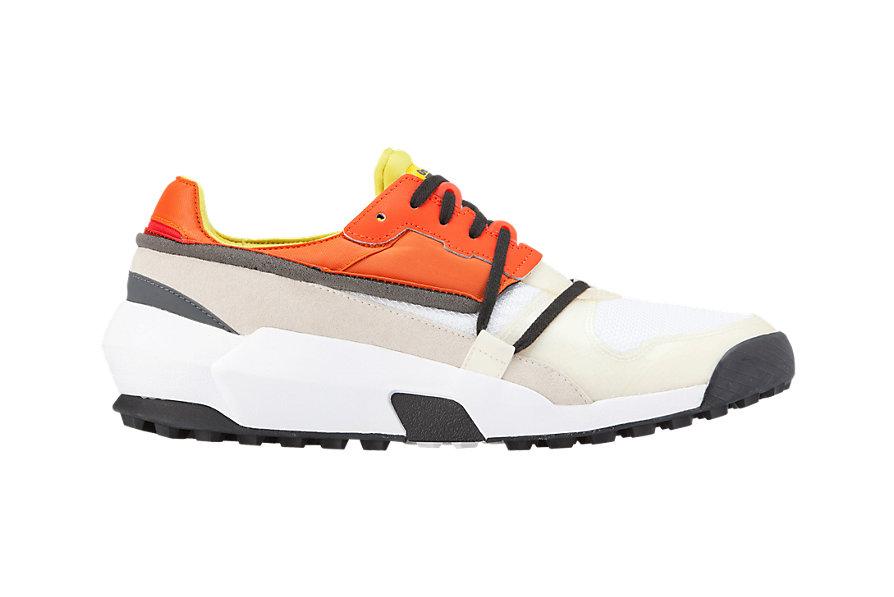 ADMIX RUNNER SLIP-ONホワイト×オレンジ