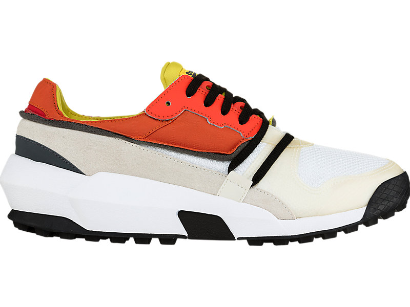 Admix Runner Slip-On WHITE/ORANGE 1 RT