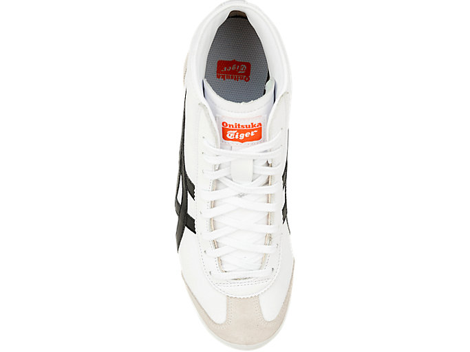 Top view of MEXICO MID RUNNER, WHITE/BLACK