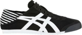 onitsuka tiger mexico 66 black and white hombre