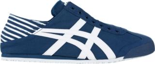 onitsuka tiger mexico 66 white navy blue 80
