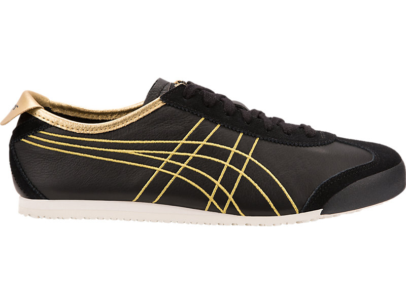 brand new d92d6 eaf56 Mexico 66   Black Rich Gold   Onitsuka Tiger United States
