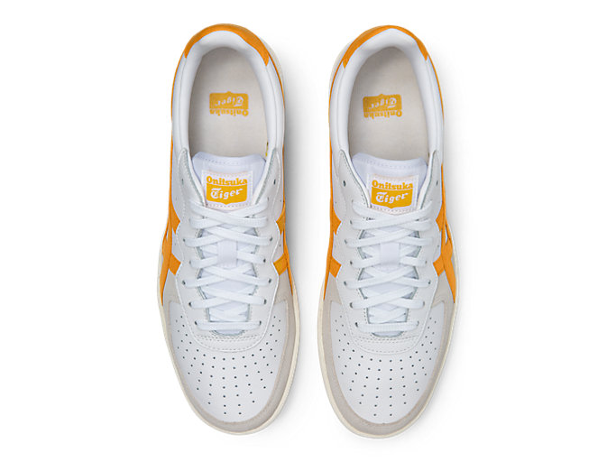Top view of GSM, WHITE/TIGER YELLOW