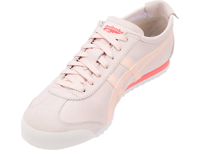 Front Left view of MEXICO 66, BLUSH/BREEZE