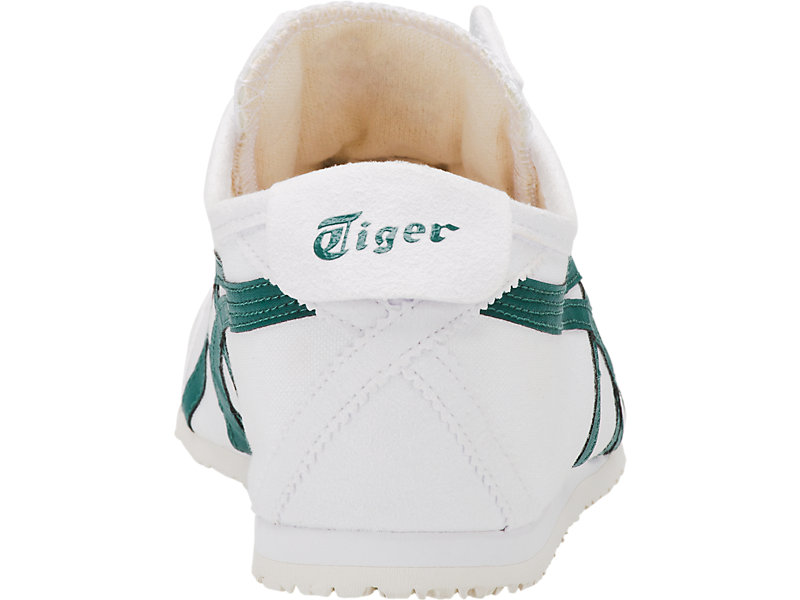 MEXICO 66 SLIP-ON WHITE/SPRUCE GREEN 21 BK
