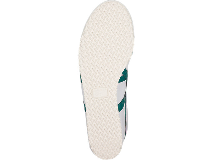 Bottom view of Mexico 66 Slip-On, WHITE/SPRUCE GREEN