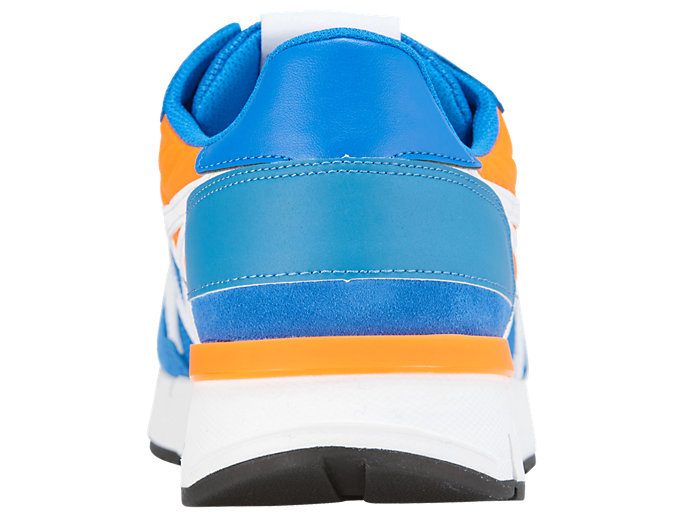 Back view of REBILAC™ RUNNER, ELECTRIC BLUE/WHITE