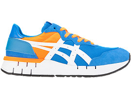 Right side view of REBILAC™ RUNNER, ELECTRIC BLUE/WHITE