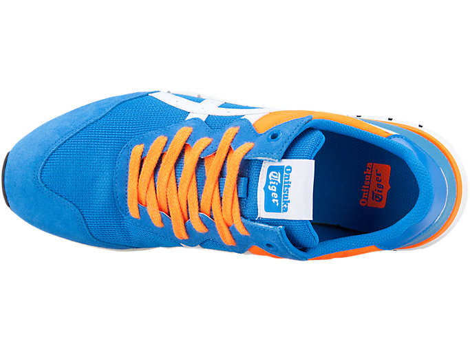 Top view of Rebilac Runner, ELECTRIC BLUE/WHITE