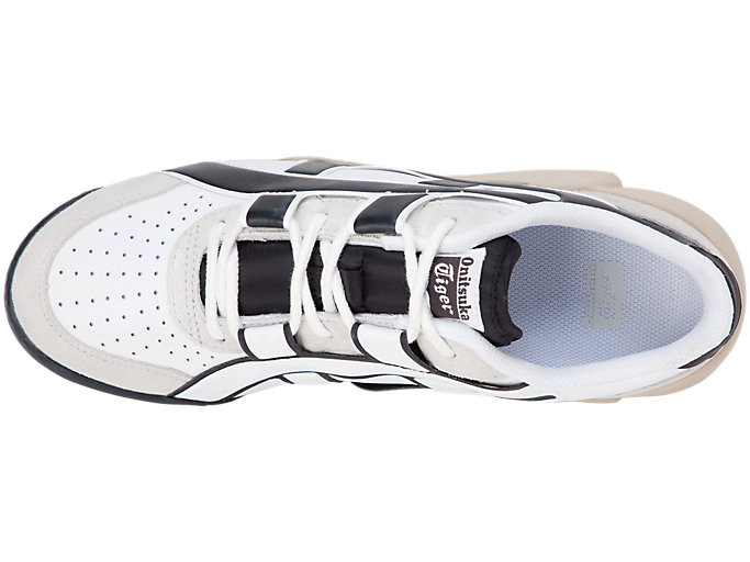 Top view of BIG LOGO TRAINER, WHITE/BLACK