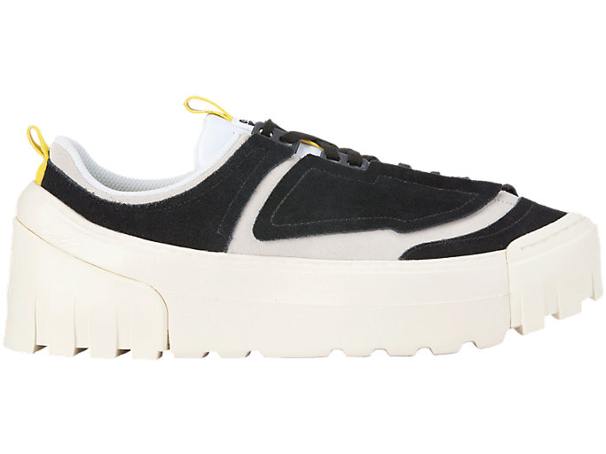 Right side view of CHUNKY RUNNER LO, BLACK/VIBRANT YELLOW