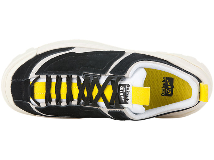 Top view of CHUNKY RUNNER LO, BLACK/VIBRANT YELLOW