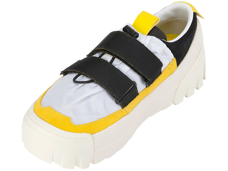 CHUNKY SLIP-ON WHITE/VIBRANT YELLOW 9 FL