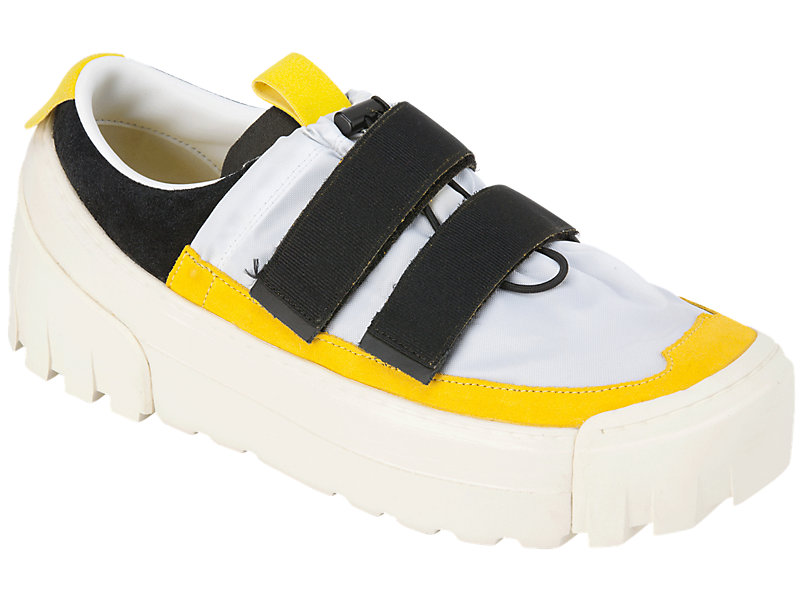 CHUNKY SLIP-ON WHITE/VIBRANT YELLOW 5 FR