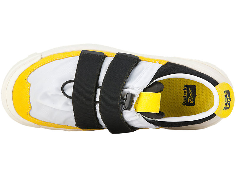 CHUNKY SLIP-ON WHITE/VIBRANT YELLOW 21 TP
