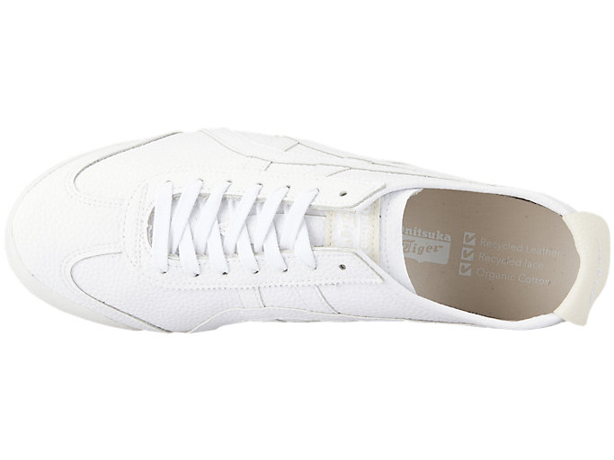 Top view of MEXICO 66™, WHITE/WHITE
