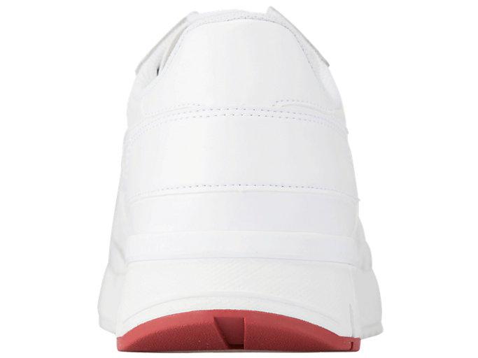 Back view of REBILAC RUNNER, WHITE/WHITE