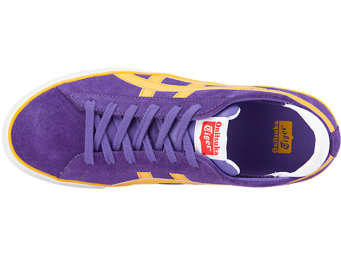 Top view of Fabre Bl-S 2.0, VIOLET/TIGER YELLOW