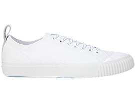 Right side view of OK BASKETBALL™ LO, WHITE/WHITE