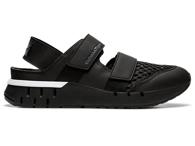 Right side view of Rebilac Sandal, BLACK/BLACK