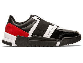 Right side view of D-Trainer, BLACK/CLASSIC RED