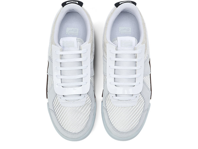 Top view of D-Trainer Slip-On, CREAM/POLAR SHADE