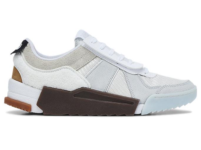 Right side view of D-Trainer Slip-On, CREAM/POLAR SHADE