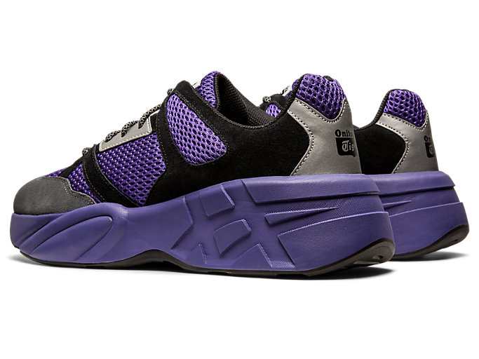 Front Left view of P-Trainer, GENTRY PURPLE/CARRIER GREY