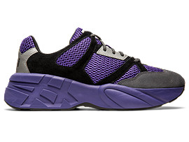 Right side view of P-Trainer, GENTRY PURPLE/CARRIER GREY