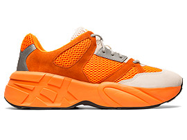 Right side view of P-Trainer, SHOCKING ORANGE/CREAM