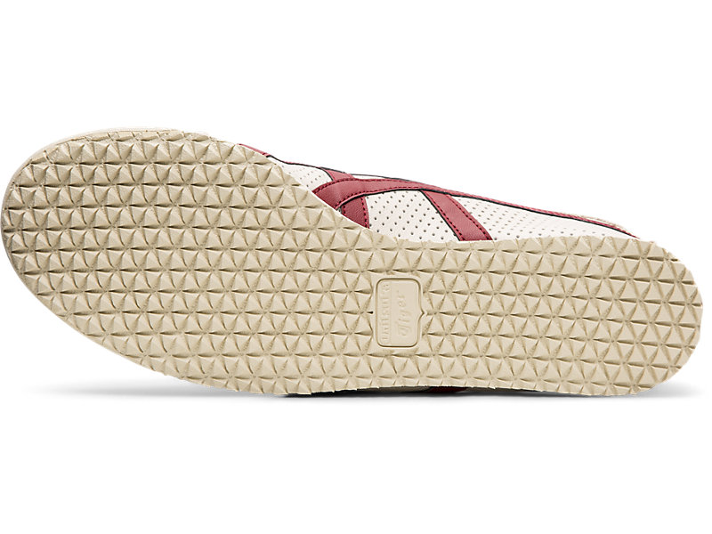 MEXICO 66 SLIP-ON OATMEAL/BEET RED 17 BT