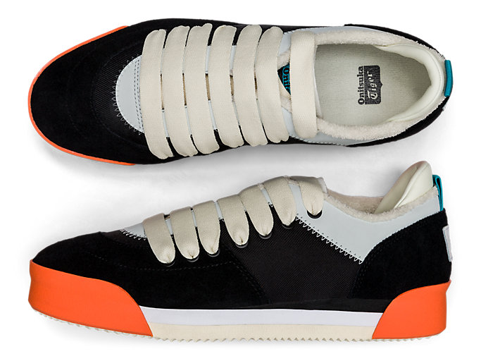 Alternative image view of Kamo Trainer, BLACK/CREAM