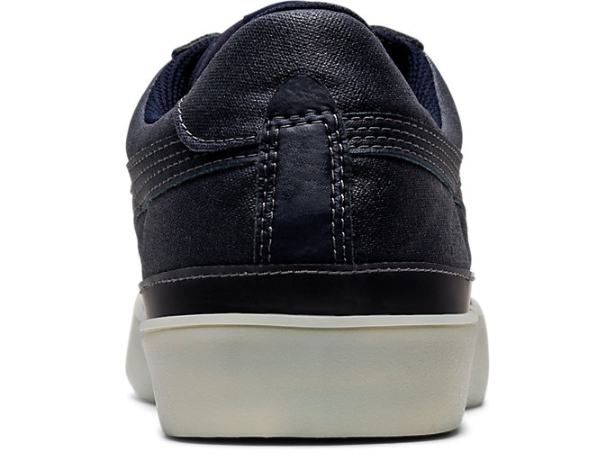Back view of Fabre Classic Low Top, MAKO BLUE/MAKO BLUE