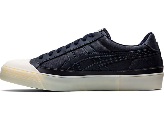 Left side view of Fabre Classic Low Top, MAKO BLUE/MAKO BLUE