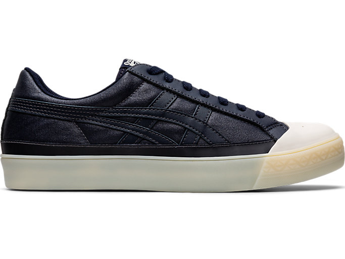 Right side view of Fabre Classic Low Top, MAKO BLUE/MAKO BLUE