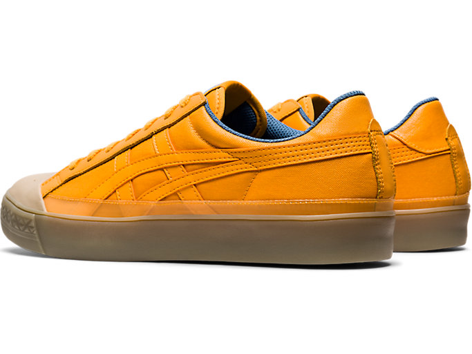 Front Left view of Fabre Classic Low Top, TIGER YELLOW/TIGER YELLOW