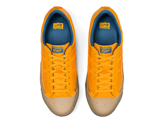 Top view of Fabre Classic Low Top, TIGER YELLOW/TIGER YELLOW