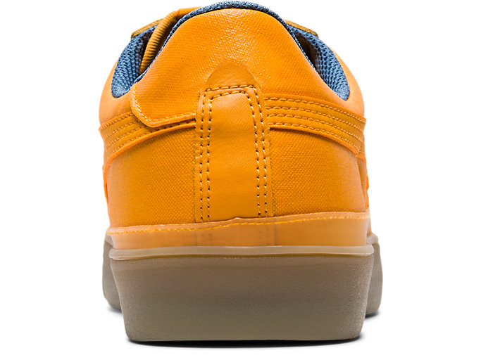 Back view of Fabre Classic Low Top, TIGER YELLOW/TIGER YELLOW