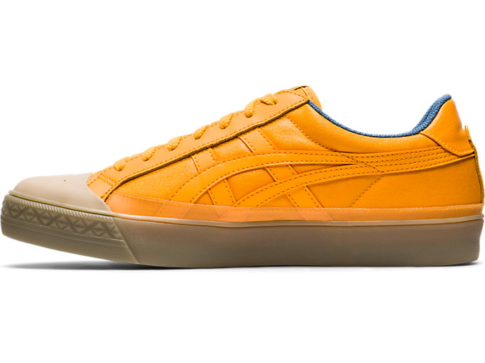 Left side view of Fabre Classic Low Top, TIGER YELLOW/TIGER YELLOW