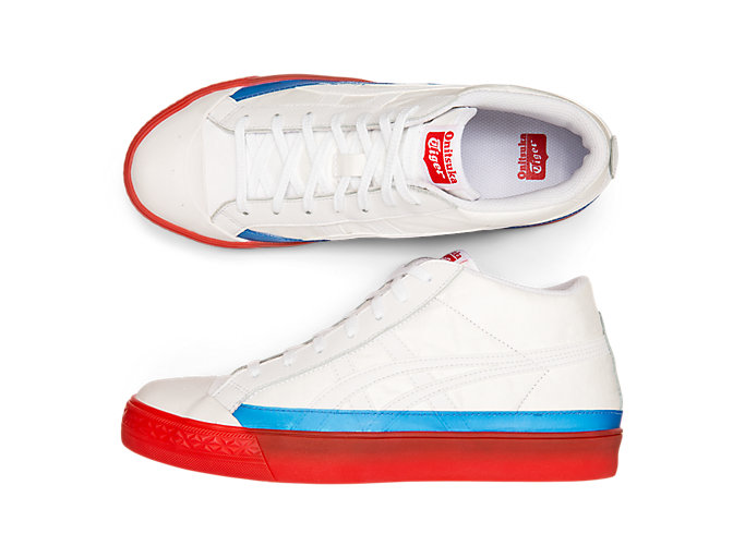 Alternative image view of Fabre Classic Mid-Top, WHITE/WHITE
