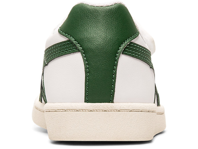 Back view of GSM PS, WHITE/HUNTER GREEN