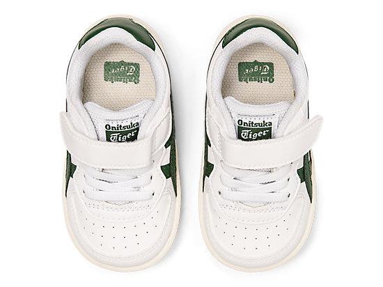 GSM TS WHITE/HUNTER GREEN