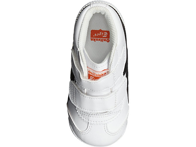 Top view of MEXICO MID-RUNNER TS, WHITE/BLACK
