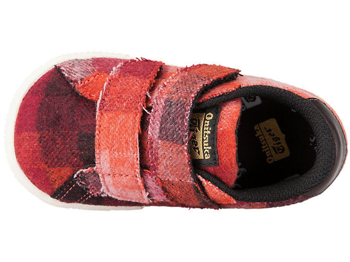 Top view of LAWNSHIP TS, CLASSIC RED/CLASSIC RED