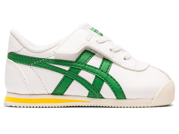 Right side view of TIGER CORSAIR TS, WHITE/GREEN